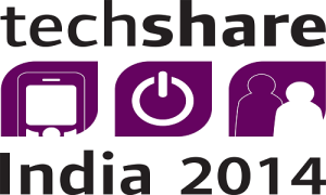 techshare india 2014 logo