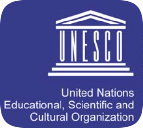 UNESCO logo- United Nations Educational. Scientific and Cultural Organization
